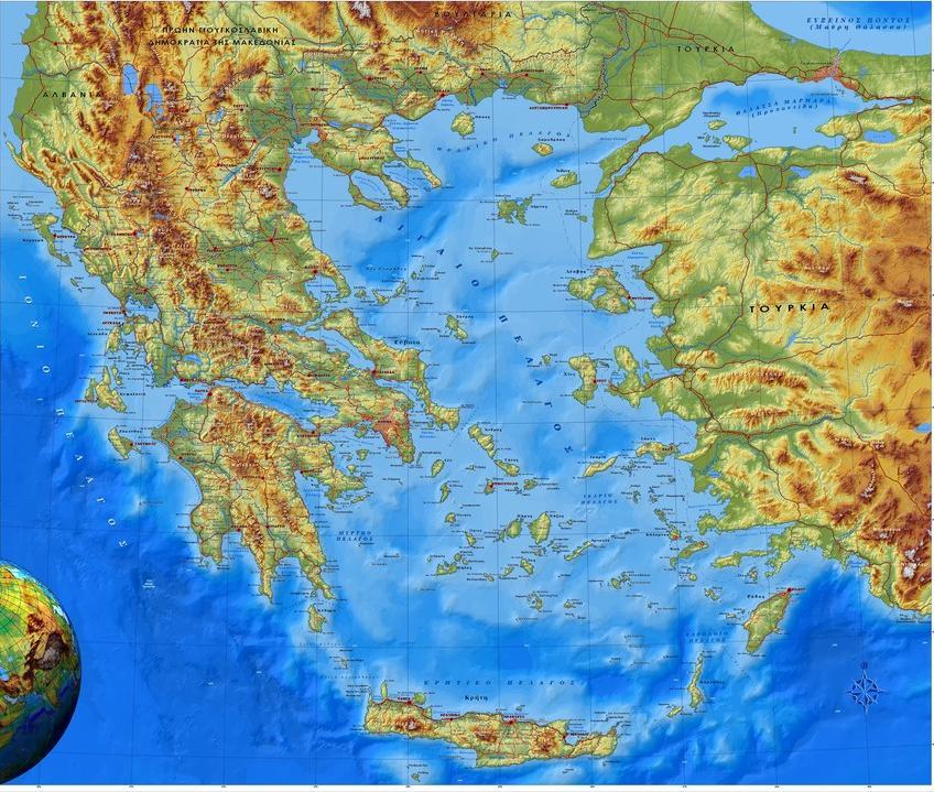 Το φυσικό περιβάλλον της Ελλάδας