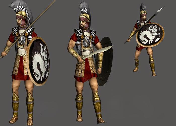 Ο οπλίτης στην Αρχαία Ελλάδα
