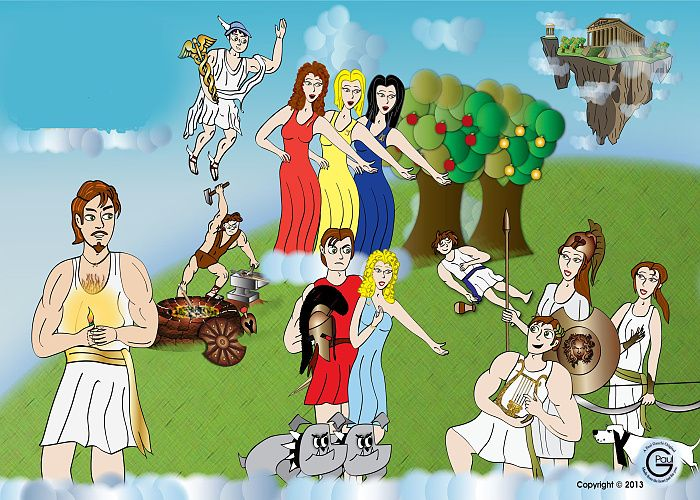 Οι δώδεκα θεοί του Ολύμπου